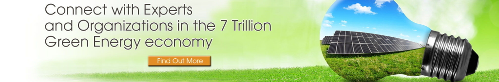 Get Connected in the $7 Trillion Dollar Green Economy